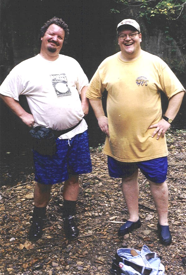 "Casper & Stott attempt to rival SE radio's Rick 'n Bubba as the ""two  sexiest fat men in the world."" You make the call."